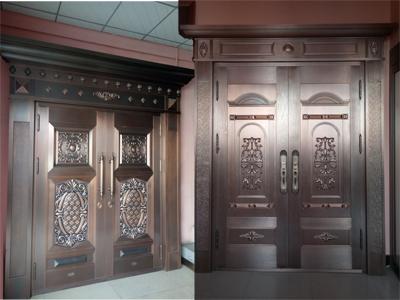 天卓展厅—别墅铜门