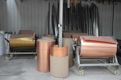 天卓工厂—原材料区