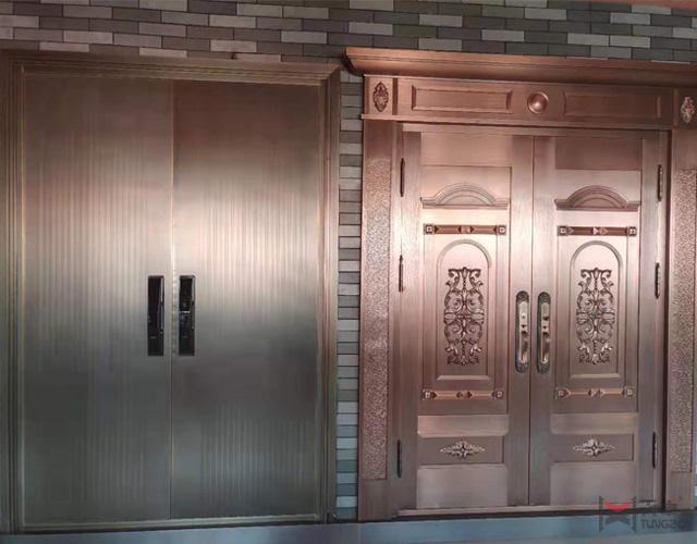 天卓展厅—铜门