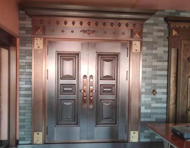 天卓展厅—铜别墅门