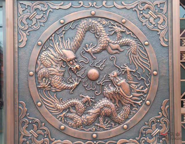 天卓展厅—浮雕