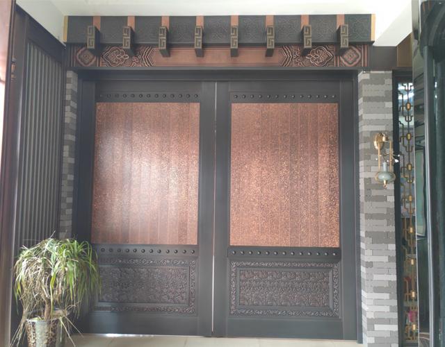 展厅大型铜门