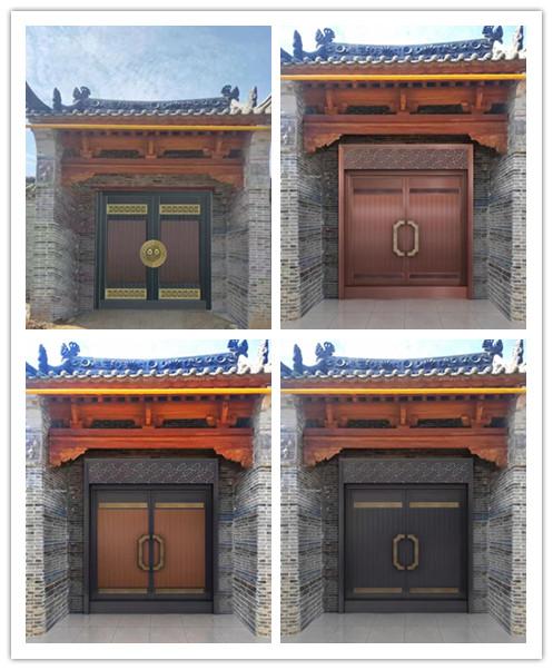 西安天卓铜门效果图,你觉得哪张效果好?