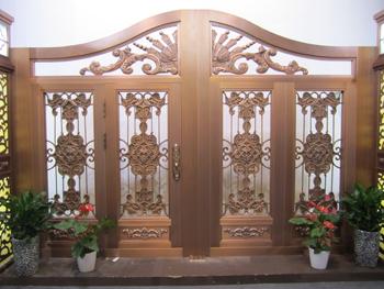 01-庭院铜门