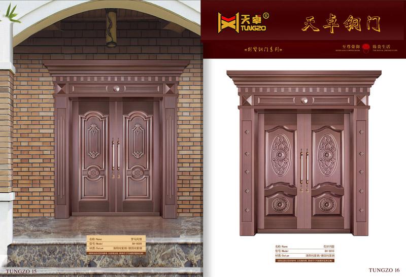 别墅铜门15-16——花好月圆-罗马风情