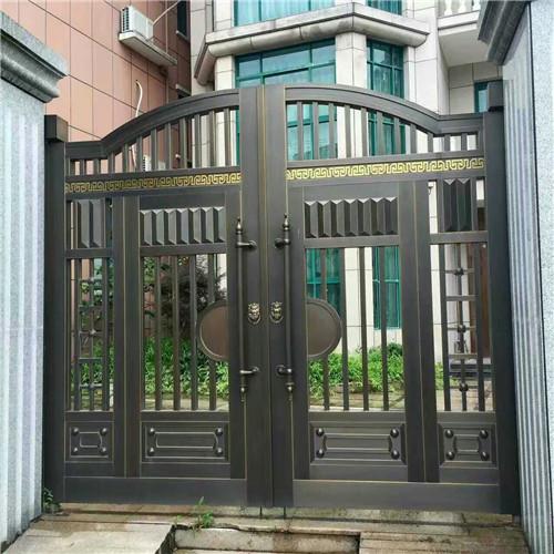 庭院超高铜门