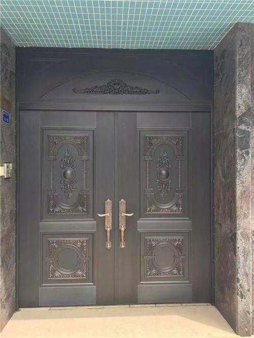 庭院双开铜门