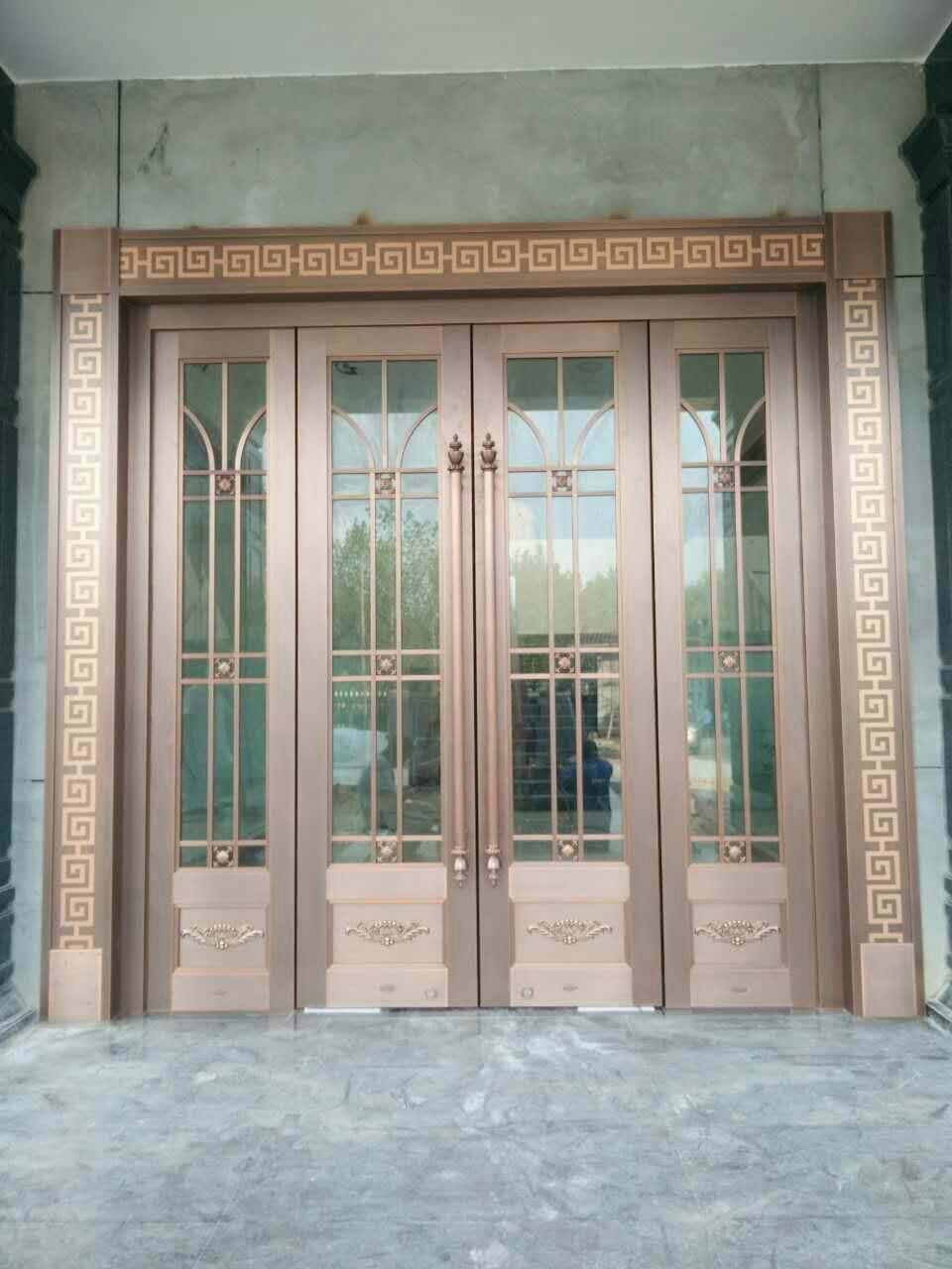 纯铜紫铜门
