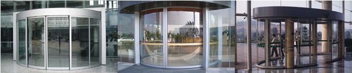西安自动弧形门