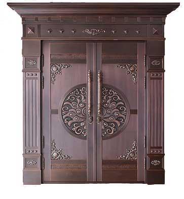 西安别墅铜门