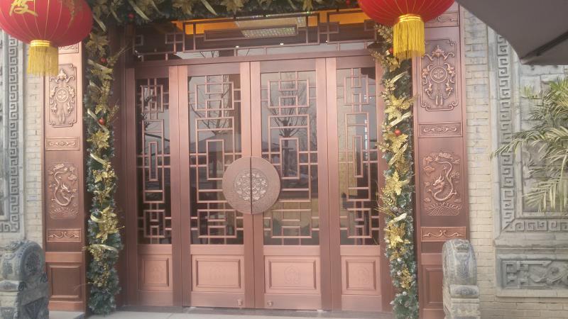 售楼处高端铜门