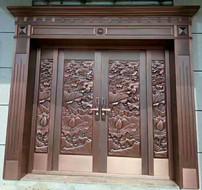 西安纯铜门