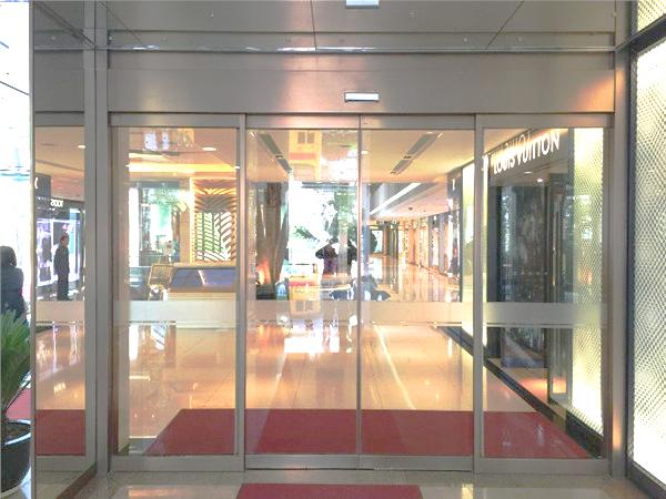 陕西中大国际大厦自动门案例