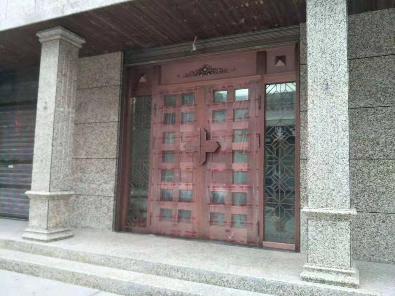 泾阳茶店玻璃铜门