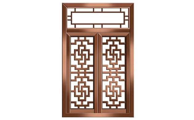 铜窗-铜装饰