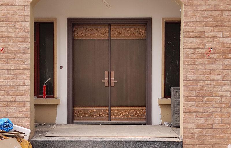 西安天卓家用铸铝门