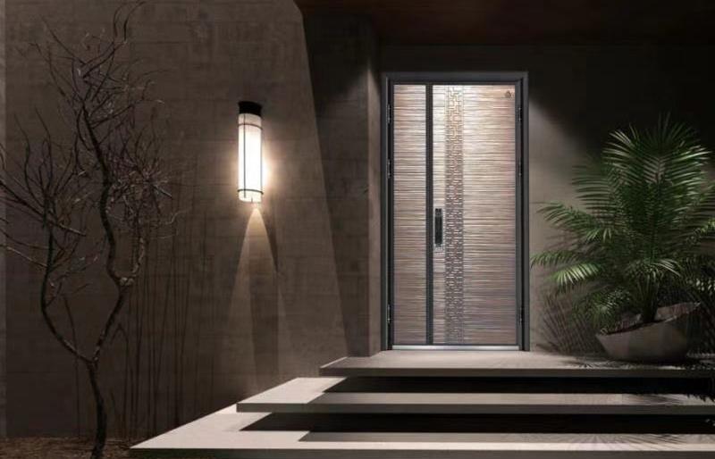 高端精装房铸铝门