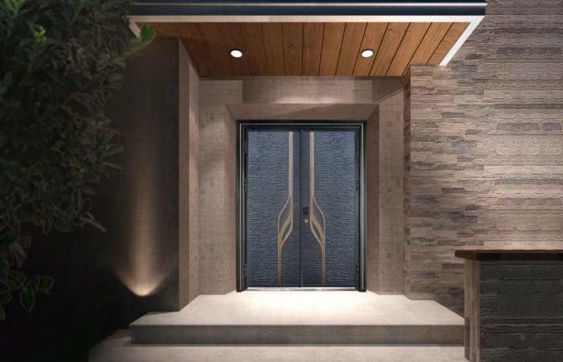 高档别墅铸铝门