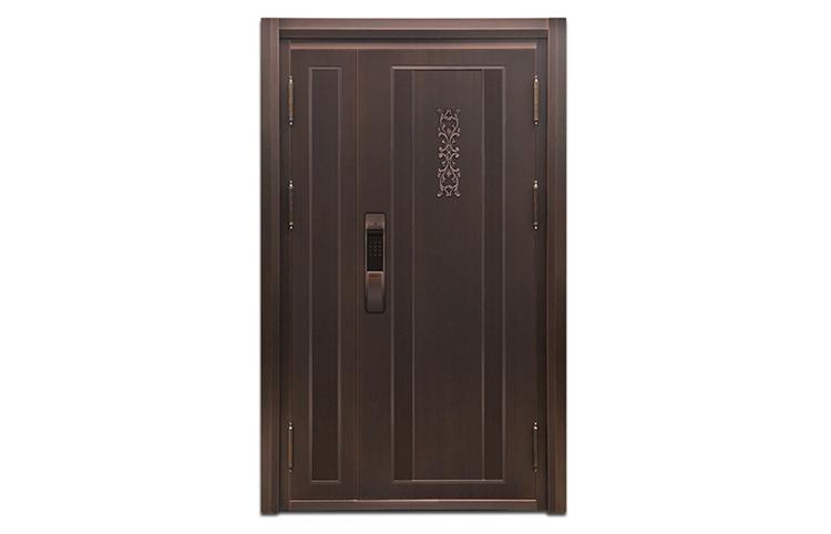 西安子母铜门