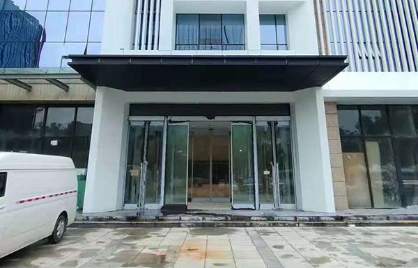 西安智慧国际大厦多玛ES200自动门